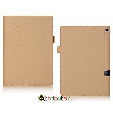 Чехол Lenovo Yoga Tablet 3 Plus 10 YT-X703F Premium book cover beige