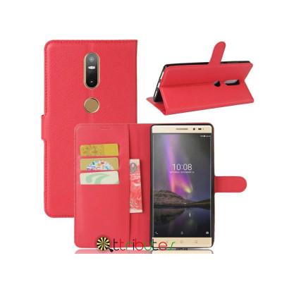 Чехол Lenovo Phab 2 plus PB2-670M 6.4 Cover leather book red