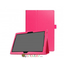 Чехол Lenovo Tab 4 10.1 plus x704F & x704N Classic book cover rose red