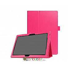Чехол Lenovo Tab 4 10 tb x304F / x304L Classic book cover rose red