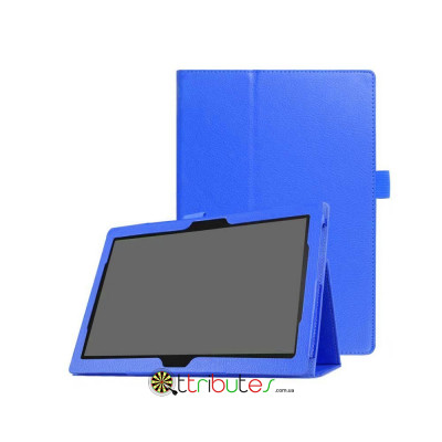 Чехол Lenovo Tab 4 10.1 plus x704F & x704N Classic book cover dark blue