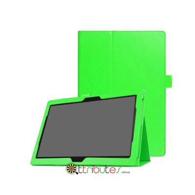 Чохол Lenovo Tab 4 10.1 tb x304F / x304L Classic book cover apple green