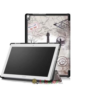 Чехол Lenovo Tab 4 10.1 plus x704F & x704N Print ultraslim paris
