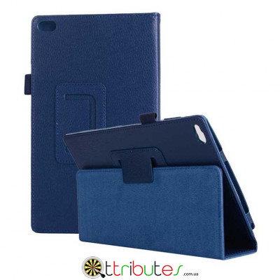 Чехол Lenovo Tab 4 8.0 tb 8504F & 8504N Classic book cover dark blue