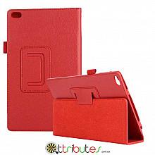 Чехол Lenovo Tab 4 8.0 tb 8504F & 8504N Classic book cover red