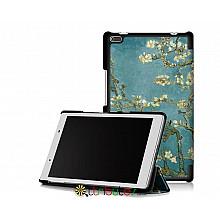 Чехол Lenovo Tab 4 8.0 tb 8504F & 8504N Print ultraslim bloomy tree