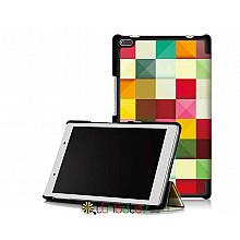 Чехол Lenovo Tab 4 8.0 tb 8504F & 8504N Print ultraslim square