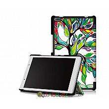 Чехол Lenovo Tab 4 8.0 tb 8504F & 8504N Print ultraslim tree