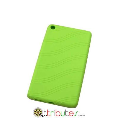 Чехол Lenovo Tab 3 Plus 7703 X / F 7.0 Silicone apple green