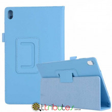 Чехол Lenovo Tab 4 8 plus 8704F & 8704N 8704 Classic book cover sky blue