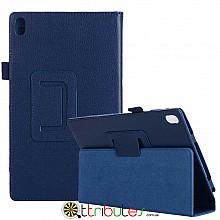 Чехол Lenovo Tab 4 8 plus 8704F & 8704N 8704 Classic book cover dark blue