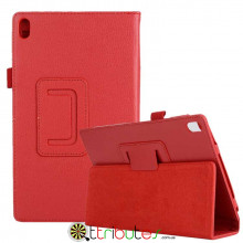 Чехол Lenovo Tab 4 8 plus 8704F & 8704N 8704 Classic book cover red