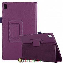 Чехол Lenovo Tab 4 8 plus 8704F & 8704N 8704 Classic book cover purple