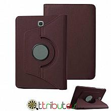 Чехол Samsung Galaxy Tab S2 9.7 sm-t810 t815 brown 360 градусов