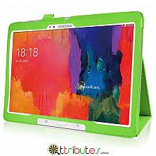 Чохол Samsung Galaxy Tab S 10.5 T800, T805 Classic book cover apple green