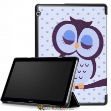 Чехол HUAWEI MediaPad T3 10 9.6 AGS-L09 AGS-W09 Print ultraslim owl