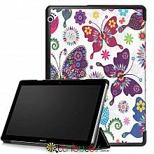 Чехол HUAWEI MediaPad T3 10 9.6 AGS-L09 AGS-W09 Print ultraslim butterfly