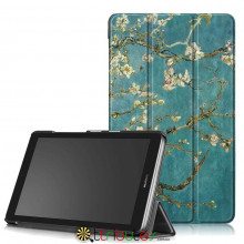 Чехол HUAWEI MediaPad T3 7 дюймов bg2 w09 Print ultraslim bloomy tree
