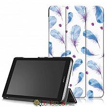 Чехол HUAWEI MediaPad T3 7 дюймов bg2 w09 Print ultraslim feathers
