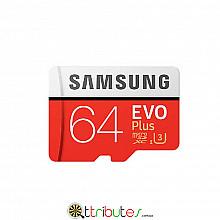 Samsung карта памяти Class10 UHS-1 64 ГБ EVO PLUS MicroSDHC для планшета смартфон