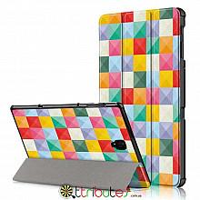 Чехол Samsung Galaxy Tab A 10.5 t590 t595 Print ultraslim square