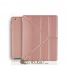 Чехол iPad 2 3 4 Gum origami ultraslim rose gold