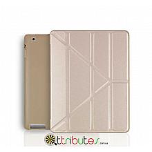 Чехол iPad 2 3 4 Gum origami ultraslim gold