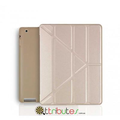 Чохол iPad 2 3 4 Gum origami ultraslim gold