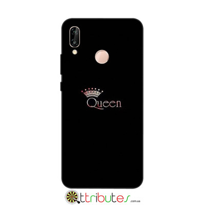Чохол HUAWEI P20 Lite 5.8 Print Silicone queen
