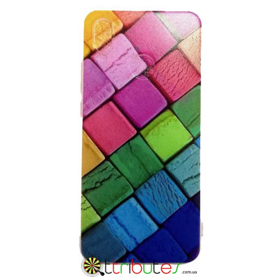 Чохол HUAWEI P20 Lite 5.8 Print Silicone squares