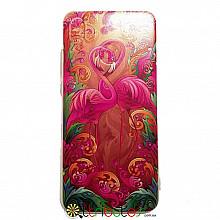 Чехол HUAWEI P20 Lite 5.8 Print Silicone flamingo pink