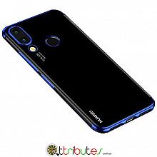 Чехол HUAWEI P20 Lite 5.8 Cristal Silicone dark blue