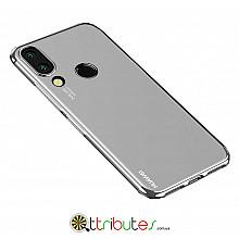 Чехол HUAWEI P20 Lite 5.8 Cristal Silicone silver