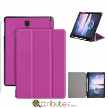Чехол Samsung Galaxy Tab S4 10.5 sm-t835 t830 Moko book stylus cover purple