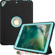 Чехол Apple iPad 2017 2018 9.7 Armor book cover black-mint green