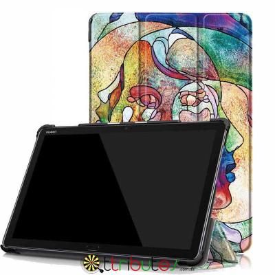 Чехол HUAWEI MediaPad M5 Lite 10.1 Print ultraslim faces