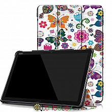 Чохол HUAWEI MediaPad M5 Lite 10 Print ultraslim butterfly