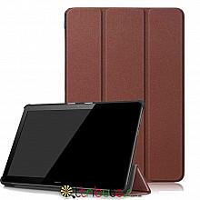 Чехол HUAWEI MediaPad T5 10.1 Moko ultraslim brown