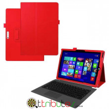 Чехол Microsoft Surface Pro 4 12.3 Classic book cover red
