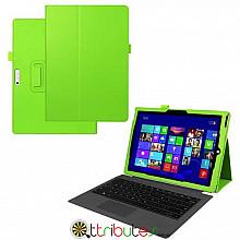 Чехол Microsoft Surface Pro 3 12.3 Classic book cover apple green
