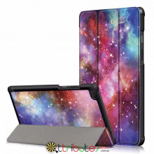 Чехол Lenovo Tab E7 TB-7104I Print ultraslim galaxy