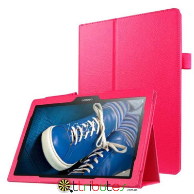 Чехол Lenovo Tab 2 A10-30 / x30 10.1 Classic book cover rose red