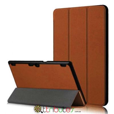 Чехол Lenovo Tab 2 A10-70 f Moko ultraslim brown