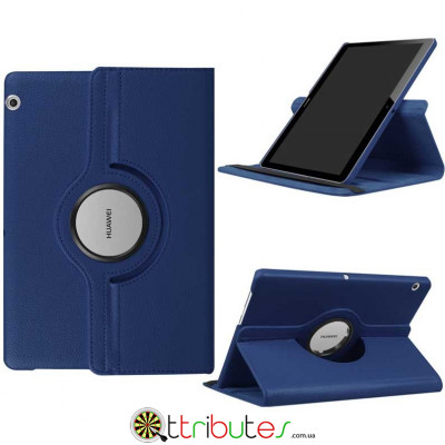 Чехол HUAWEI MediaPad T3 10 dark blue 360 градусов