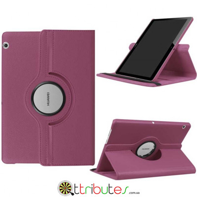 Чехол HUAWEI MediaPad T3 10 purple 360 градусов