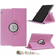Чохол HUAWEI MediaPad T5 10.1 360 градусов pink
