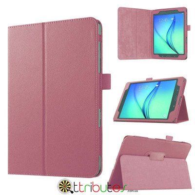 Чехол Samsung galaxy tab a t350, t355 Classic book cover pink