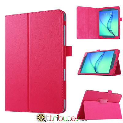Чехол Samsung galaxy tab a t350, t355 Classic book cover rose red