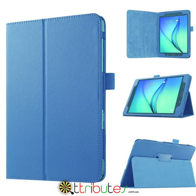 Чехол Samsung galaxy tab a t350, t355 Classic book cover sky blue