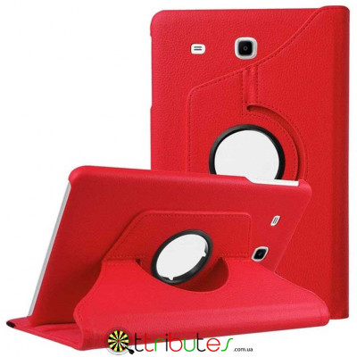 Чехол Samsung galaxy Tab E 9.6 t561 t560 red 360 градусов book cover